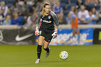 Chicago, IL - Saturday Sept. 24, 2016: Kelsey Wys during a regular season National Women's Soccer League (NWSL) match between the Chicago Red Stars and the Washington Spirit at Toyota Park.