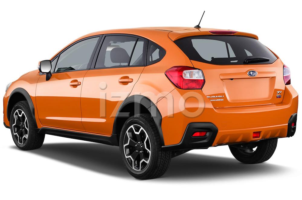 Car pictures of rear three quarter view of 2014 Subaru XV-Crosstrek Premium 5 Door SUV Angular Rear