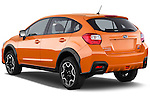 Car pictures of rear three quarter view of 2014 Subaru XV-Crosstrek Premium 5 Door SUV Angular Rear