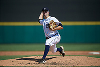 Detroit Tigers pitcher Ethan DeCaster (56) during a Florida Instructional League intrasquad game on October 17, 2020 at Joker Marchant Stadium in Lakeland, Florida.  (Mike Janes/Four Seam Images)