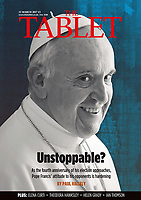 The Tablet English Magazine Pope Francis  Photograph by Stefano Spaziani 11 March 2017