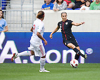 Heather Mitts, Maribel Dominguez. The USWNT defeated Mexico, 1-0, during the game at Red Bull Arena in Harrison, NJ.