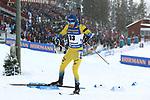 IBU World Championships Biathlon 2019 Ostersund  Sprint Men Event in Ostersund, Sweden on March 9, 2019; Sebastian Samuelsson (SWE)