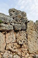 megalithischer Ggantija Tempel 3.600-3.200 auf Gozo, Malta, Europa, Unesco-Weltkulturerbe