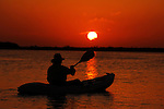 Yucatan Sunset with Kayak
