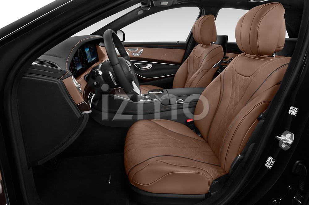 Front seat view of 2019 Mercedes Benz S-Class - 4 Door Sedan Front Seat  car photos
