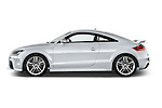 Driver side profile view of a 2010 - 2014 Audi TT RS 3 Door Coupe 4WD.