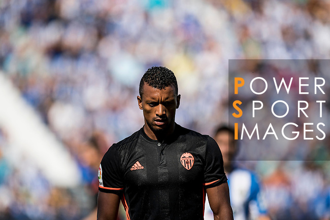 Nani of Valencia CF in action during their La Liga match between Club Deportivo Leganes and Valencia CF at the Butarque Municipal Stadium on 25 September 2016 in Madrid, Spain. Photo by Diego Gonzalez Souto / Power Sport Images