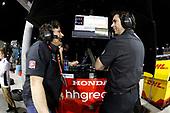 2017 IndyCar Media Day - Track Action<br /> Phoenix Raceway, Arizona, USA<br /> Friday 10 February 2017<br /> Michael Andretti, Bryan Herta<br /> World Copyright: Michael L. Levitt/LAT Images<br /> ref: Digital Image _AT_1688