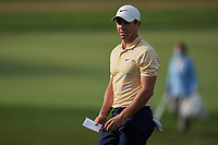 29th August 2020, Olympia Fields, Illinois, USA;  Rory McIlroy of Northern Ireland looks on after missing a putt on the 18th green during the third round of the BMW Championship on the North Course at Olympia Fields Country Club