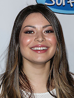 "LOS ANGELES, CA, USA - APRIL 17: Actress Miranda Cosgrove arrives at the Drake Bell ""Ready Steady Go!"" Album Release Party held at Mixology101 & Planet Dailies on April 17, 2014 in Los Angeles, California, United States. (Photo by Xavier Collin/Celebrity Monitor)"