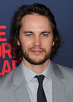 """NEW YORK CITY, NY, USA - MAY 12: Taylor Kitsch at the New York Screening Of HBO's """"The Normal Heart"""" held at the Ziegfeld Theater on May 12, 2014 in New York City, New York, United States. (Photo by Celebrity Monitor)"""