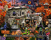 Lori, STILL LIFE STILLEBEN, NATURALEZA MORTA, paintings+++++Witches Welcome_5_72,USLS50,#I#, EVERYDAY ,puzzles ,collage,halloween