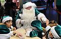 Green Santa Claus from Denmark visits Japan as ecology goodwill ambassador