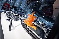 """55. Internationale Bootsmesse """"hanseboot"""" vom 25. Oktober bis 2. November 2014 zeigt alles rund um den Bootssport. Von Luxusyachten bis zum Kanu oder den einfachen Ruderboot und dem entsprechenden Zubehoer.<br /> Im Bild: Der Champagner-Kuehler fuer den Bootskapitaen.<br /> 27.10.2014, Hamburg<br /> Copyright: Christian-Ditsch.de<br /> [Inhaltsveraendernde Manipulation des Fotos nur nach ausdruecklicher Genehmigung des Fotografen. Vereinbarungen ueber Abtretung von Persoenlichkeitsrechten/Model Release der abgebildeten Person/Personen liegen nicht vor. NO MODEL RELEASE! Don't publish without copyright Christian-Ditsch.de, Veroeffentlichung nur mit Fotografennennung, sowie gegen Honorar, MwSt. und Beleg. Konto: I N G - D i B a, IBAN DE58500105175400192269, BIC INGDDEFFXXX, Kontakt: post@christian-ditsch.de<br /> Urhebervermerk wird gemaess Paragraph 13 UHG verlangt.]"""