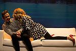 Luis Miguel Segui (R) and Antonia San Juan during `Lo malo de ser perfecto´ theater play representation in Madrid, Spain. October 05, 2015.<br /> (ALTERPHOTOS/BorjaB.Hojas)