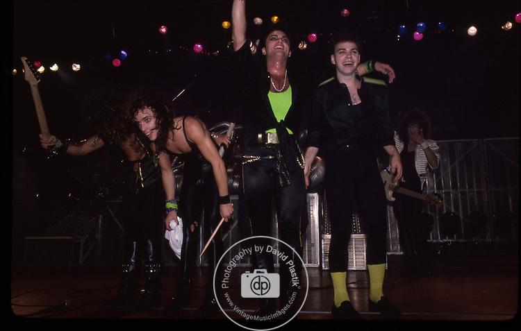 Queensryche 1986, Scott Rockenfield, Geoff Tate, Randy Gane