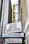 'The Wavery Gallery' - Theatre Marquee