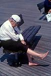 Coney Island  New Jersey USA Circa 1979