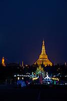 Shwedagon Pagoda, Yangon Myanmar