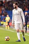 Real Madrid's Nacho Fernandez during La Liga match between Real Madrid and Real Sociedad at Santiago Bernabeu Stadium in Madrid, Spain. January 29, 2017. (ALTERPHOTOS/BorjaB.Hojas)