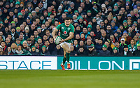 Saturday 2nd February 2019 | Ireland vs England<br /> <br /> Jacob Stockdale on the attack during the opening Guinness 6 Nations clash between Ireland and England at the Aviva Stadium, Lansdowne Road, Dublin, Ireland.  Photo by John Dickson / DICKSONDIGITAL