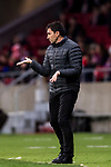 Coach Asier Garitano Aguirrezabal of CD Leganes reacts during the La Liga 2017-18 match between Atletico de Madrid and CD Leganes at Wanda Metropolitano on February 28 2018 in Madrid, Spain. Photo by Diego Souto / Power Sport Images