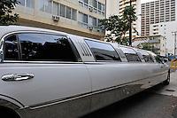 Limousine car, Waikiki, Honolulu, Oahu Island, Hawaii, Usa