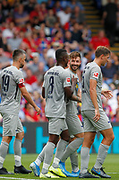 GOAL - Marvin Plattenhardt of Hertha Berlin makes it 1-0 during the pre season friendly match between Crystal Palace and Hertha BSC at Selhurst Park, London, England on 3 August 2019. Photo by Carlton Myrie / PRiME Media Images.