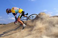 Dave Hemming riding Fat Chance Yo Eddy bike <br /> mid 1990's <br /> pic copyright Steve Behr / Stockfile