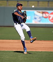 Bryan Acuna participates in the MLB International Showcase at Salt River Fields on November 12-14, 2019 in Scottsdale, Arizona (Bill Mitchell)