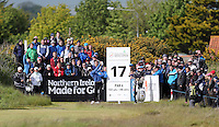 Friday 29th May 2015; Martin Kaymer, Germany, tees off at the 17th<br /> <br /> Dubai Duty Free Irish Open Golf Championship 2015, Round 2 County Down Golf Club, Co. Down. Picture credit: John Dickson / SPORTSFILE