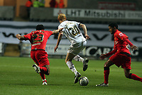 Pictured: Shaun MacDonald of Swansea City in action <br /> Re: Carling Cup Round Four, Swansea City Football Club v Watford at the Liberty Stadium, Swansea, south Wales, Tuesday 11 November 2008.<br /> Picture by Dimitrios Legakis Photography (Athena Picture Agency), Swansea, 07815441513