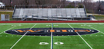 WATERTOWN, CT-011321JS05- WHS is at the 50-yard line on the John Mills Field at Watertown High School. The mascot committee is recommending the Watertown Board of Education replace the Indian mascot with Warrior. <br /> Jim Shannon Republican-American
