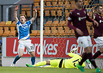 St Johnstone v Hearts 17.05.17     SPFL    McDiarmid Park<br />Liam Craig reacts as his late goal is ruled offside<br />Picture by Graeme Hart.<br />Copyright Perthshire Picture Agency<br />Tel: 01738 623350  Mobile: 07990 594431