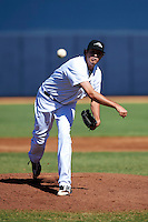 Peoria Javelinas pitcher Carson Smith #39, of the Seattle Mariners organization, during an Arizona Fall League game against the Salt River Rafters at Peoria Stadium on October 17, 2012 in Peoria, Arizona.  Salt River defeated Peoria 12-9.  (Mike Janes/Four Seam Images via AP Images)