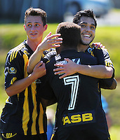 140202 ASB Premiership Football - Team Wellington v Hawkes Bay United