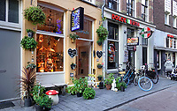 Nederland  Amsterdam-  2020.   Kokopelli smartshop in de Warmoesstraat.   Foto : ANP/ HH / Berlinda van Dam