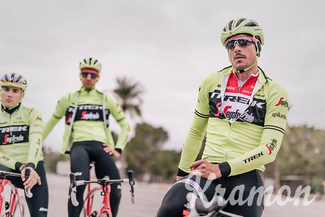 John DEGENKOLB (DEU/Trek-Segafredo)<br /> <br /> Team Trek-Segafredo training camp<br /> Mallorca jan2019<br /> <br /> ©kramon