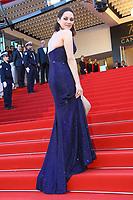 Marion Cotillard sur le tapis rouge pour la soirée dans le cadre de la journée anniversaire de la 70e édition du Festival du Film à Cannes, Palais des Festivals et des Congres, Cannes, Sud de la France, mardi 23 mai 2017.
