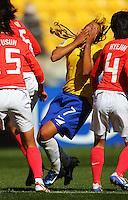 081102 FIFA Under -17 Women's Football World Cup - Brazil v Korea Republic