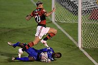 Volta Redonda (RJ), 01/05/2021 - VOLTA REDONDA-FLAMENGO - Pedro. Partida entre Volta Redonda e Flamengo, válida pela semifinal do Campeonato Carioca, realizada no Estádio Raulino de Oliveira, em Volta Redonda, neste sábado (01).