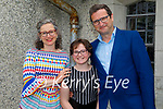 Clogher NS student Beatrice Mannix with her parents Amanda and Brendan Mannix at her confirmation in St Brendan's Church Ballymac on Thursday.