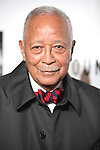 Mayor David Dinkins.attending the Opening Night Performance of 'The Mountaintop' at the Bernhard B.  Jacobs Theatre in New York City.