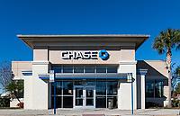 Chase Bank branch, Orlando, Florida, USA.