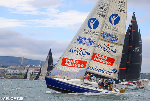 Excession an IMX38 is experiencing electrical problems in the Dun Laoghaire to Dingle Race