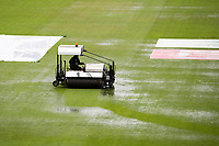 The mopping up operation begins in earnest during India vs New Zealand, ICC World Test Championship Final Cricket at The Hampshire Bowl on 18th June 2021