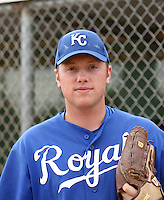 Sam Runion / Kansas City Royals 2008 Instructional League..Photo by:  Bill Mitchell/Four Seam Images