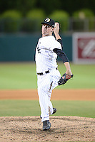 Glendale Desert Dogs pitcher Chris Bassitt (30), of the Chicago White Sox organization, during an Arizona Fall League game against the Peoria Javelinas on October 14, 2013 at Camelback Ranch Stadium in Glendale, Arizona.  Glendale defeated Peoria 5-1.  (Mike Janes/Four Seam Images)