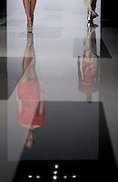 Modelle presentano le creazioni della collezione Autunno/Inverno 2013-2014 dello stilista libanese Tony Ward durante la rassegna Altaroma a Roma, 9 Luglio 2013.<br /> Models wear creations of Lebanese fashion designer Tony Ward Fall/Winter 2013/2014 during the Altaroma fashion week in Rome, 9 July 2013.<br /> UPDATE IMAGES PRESS/Virginia Farneti
